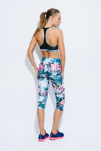 Active Crop Top in Himalaya | We Are Handsome at Fire and Shine | Womens Crops