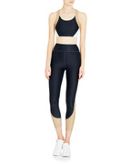 Gabrielle Crop in Navy/White/Nude   Vie Active at Fire and Shine   Womens Crops