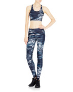 Riley Tights in Black Marble   Vie Active at Fire and Shine   Womens Leggings