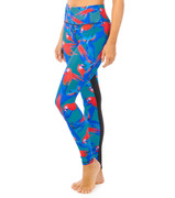 Nuts and Crackers Legging in Blue   Lurv at Fire and Shine   Womens Leggings