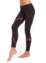 Galaxy Legging in Black | Nux at Fire and Shine | Womens Leggings