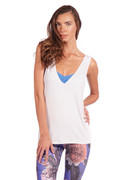 Flex Tank in White   Nux at Fire and Shine   Womens Tanks