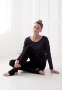 Urban Cover in Black | Wellicious at Fire and Shine | Womens Tops