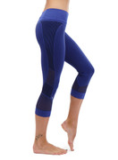 Vivian Capri Royal Blue | Nux at Fire and Shine | Womens Leggings