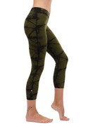 V Crop Pant in Brigade | Nux at Fire and Shine | Womens Leggings