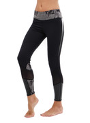 Levity Legging in Black/Smoke | Nux at Fire and Shine | Leggings
