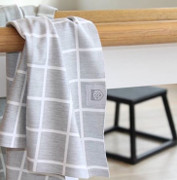 Rookie Towel Grey Grid | Tomboy Sport at Fire and Shine | Accessories