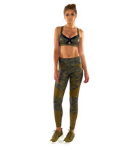 Lovers Army Moto Legging | Lurv at Fire and Shine | Womens Leggings