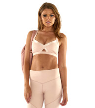 Fever Pitch Bralette Blush | Lurv at Fire and Shine | Womens Crops
