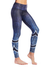 Bristol Reversible Legging (Nightwave) | Nux at Fire and Shine | Leggings