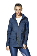 Rebel Jacket Blue | Talbot Avenue at Fire and Shine | Womens Jackets