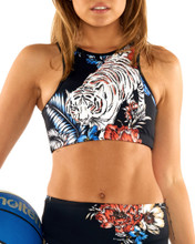 Rumble In the Jungle Halter Crop | Lurv at Fire and Shine | Womens Crops