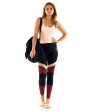 Fever Pitch Spliced Legging | Lurv at Fire and Shine | Womens Leggings