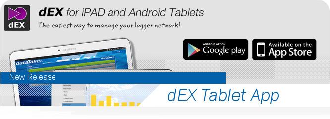 DataTaker dEX software