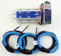 """Dent RoCoil TCA-5 with RoCoil 16"""" flexible current sensors."""