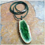 Green Goddess Beaded Necklace
