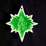 North Star Ornament - Blanco Verde