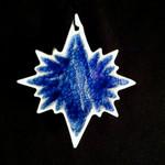 North Star Ornament - Blanco Azul