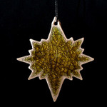 North Star Ornament - Blanco Dorado