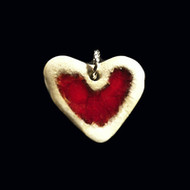 Red Heart Necklace – Paloma Pottery's New Color