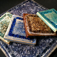 Come See What's New in our Recycled Glass Pottery Store