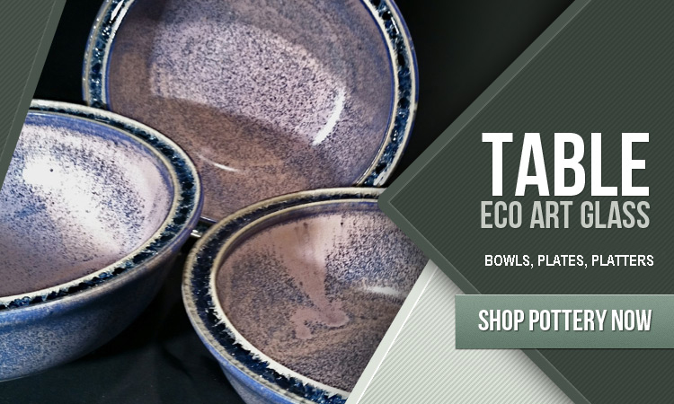 recycled glass bowls