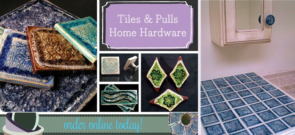 glass tiles & knobs