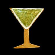 Martini Glass Fridge Magnet