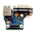 New Genuine Dell Inspiron E6440 E6000 Series USB VGA Bord 028X5F 28X5F