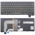 New Genuine Lenovo ThinkPad T460P US Backlit Keyboard 00UR385