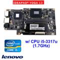 LENOVO IDEAPAD YOGA 13 w/ i5-3317u 1.7G CPU MOTHERBOARD 11201262 90000649