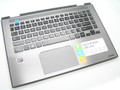 Toshiba Satellite E45W Palmrest US Keyboard With Touchpad H000089550