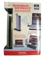 Toshiba Dynadock Wireless U Docking Station With Wireless USB Adapter PA3686U-1SET