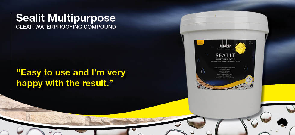 Sealit Multipurpose Clear Waterproofing Compound