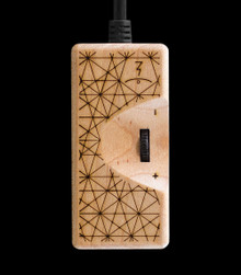Original Maple Power Adapter 2.0 - front view - Excellent alternative to batteries, at home or on the go - Ideal for use with both the Launch Box and the Muad-Dib Concentrate Box - Magic-Flight