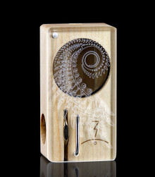 Infinity Wing Laser Launch Box in Original Maple - The world's best portable herbal vaporizer - Magic-Flight