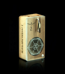 Pi Box Launch Box in Original Maple - open diagonal view - The world's best portable herbal vaporizer - Artisan Collection - Magic-Flight