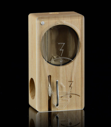 Bright Idea Laser Launch Box in Original Maple - The world's best portable herbal vaporizer – Magic-Flight
