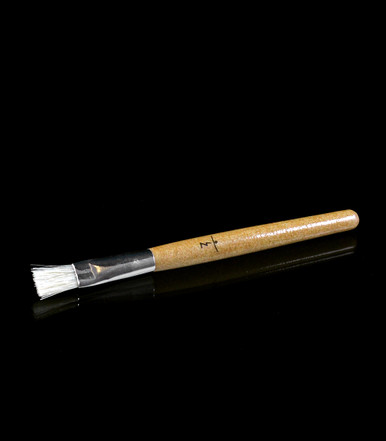 Cleaning Brush - A must-have for Launch Box maintenance - Used to gently remove herbal residue from the trench - Made of wood and features our signature glyph to perfectly compliment the Maple Launch Box - Magic-Flight