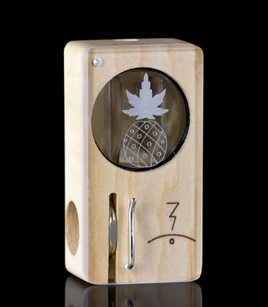 Reddit Pineapple Laser Launch Box in Original Maple - The world's best portable herbal vaporizer - Magic-Flight
