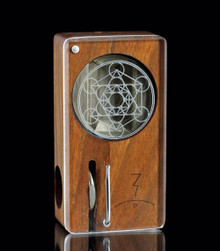 Metatron's Cube Laser Launch Box in Premium Cherry - The world's best portable herbal vaporizer - Magic-Flight