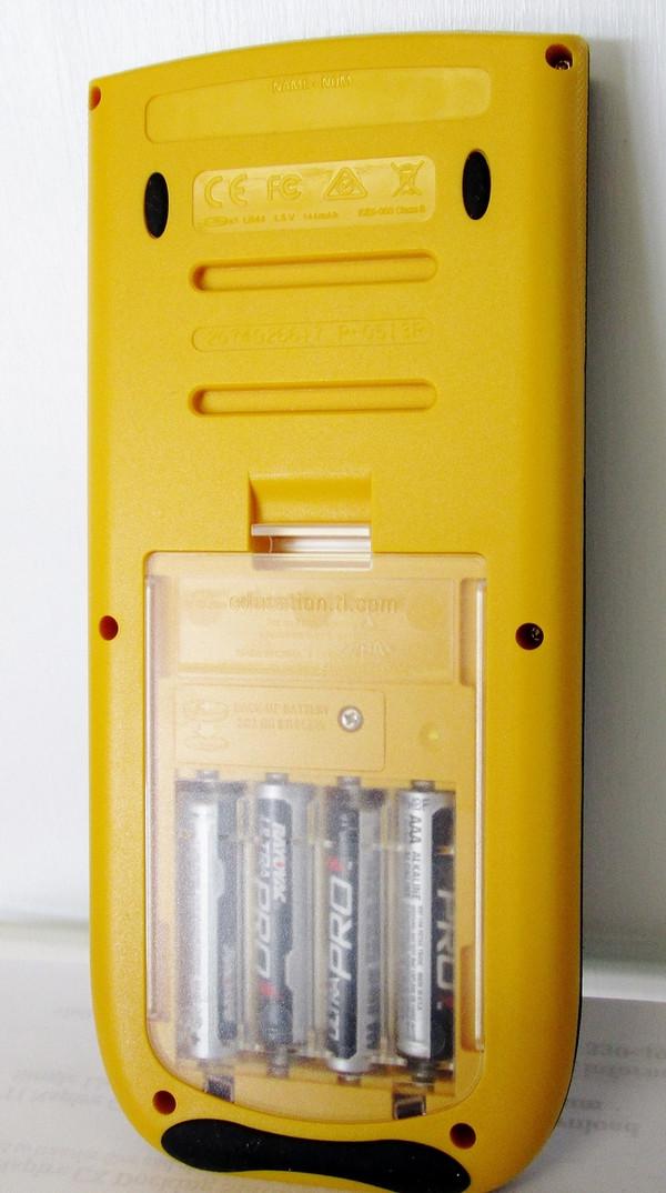 TI-84 Plus E-Z Spot Yellow Teacher Kit