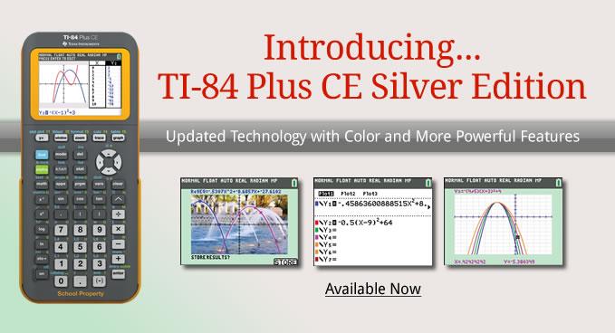 ti-84 plus ce silver edition