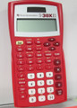 TI-30XIISR Red OGT Scientific Calculator