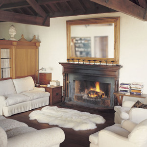 Sheepskin Specials: Quarto (4-piece) Autumn Lamb Sheepskin Rug 68in x 44in