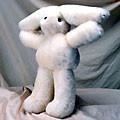 Sheepskin Rabbit Toy