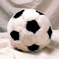 Sheepskin Soccerball Toy