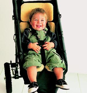 StrollerFleece - Lambskin Comforter to fit stroller or car seat