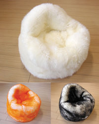Sheepskin Bean Bag Chairs