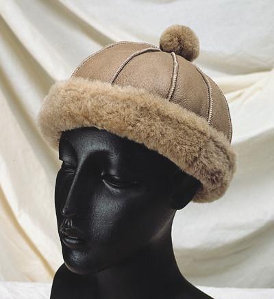 Elaine Style Sheepskin Hat